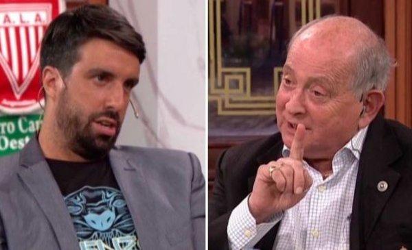 Chiche Gelblung crossed Flavio Azzaro and threatened to leave Controversy