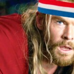 Chris Hemsworth perfects his' 80s workout look on Thor: Love and Thunder set