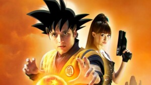 Dragonball Evolution: they created an anime version of the movie and we don't know what to think