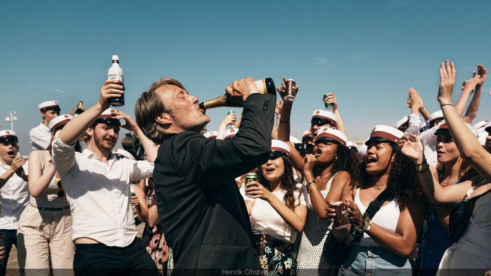 Drunk with Mads Mikkelsen back in theaters the trailer
