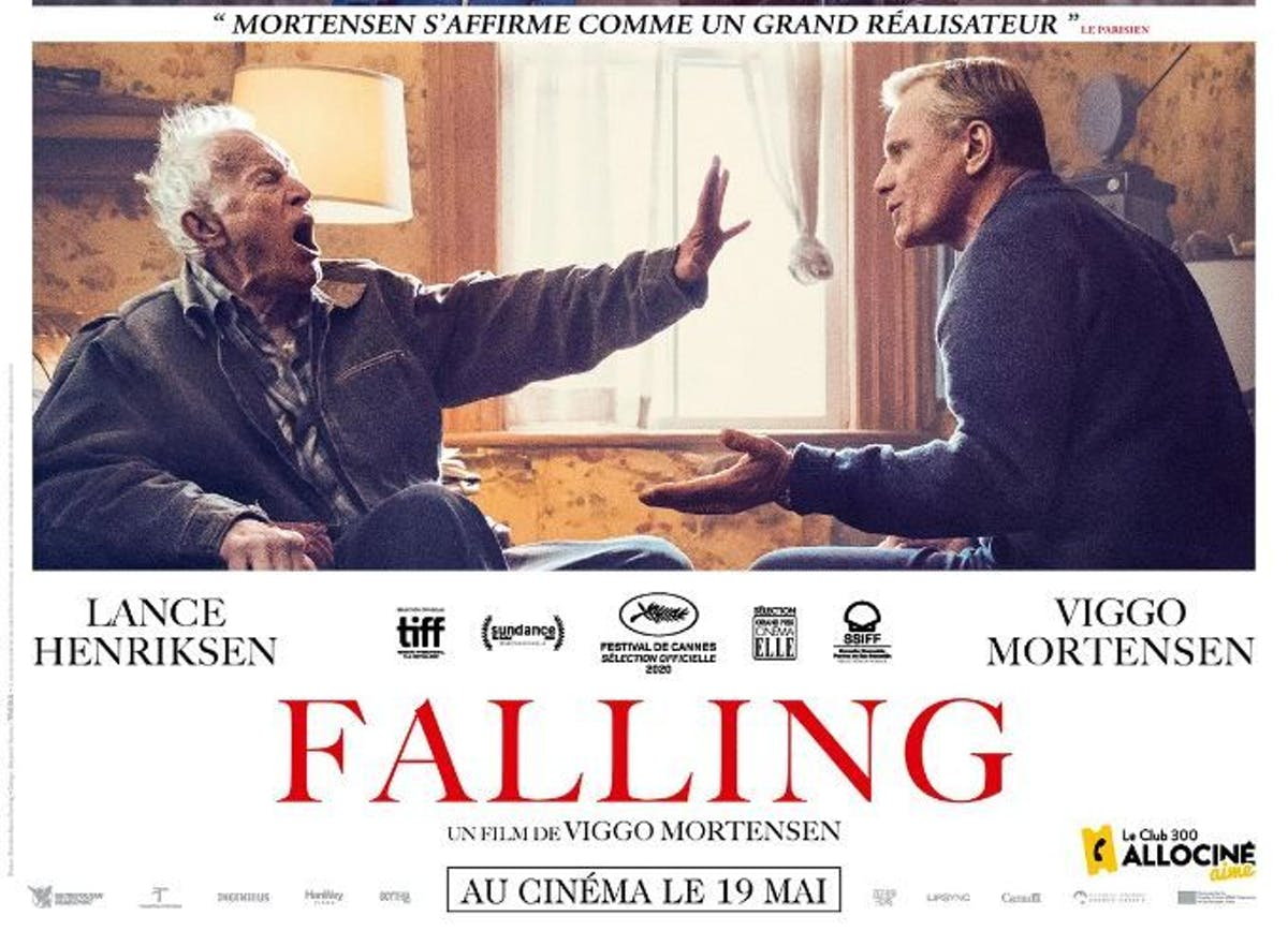 """Falling"": first film by Viggo Mortensen. Sensitive, poignant, a sacred film about filial love"