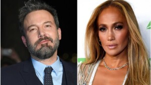 Filtered images of Jennifer Lopez and Ben Affleck together in Miami