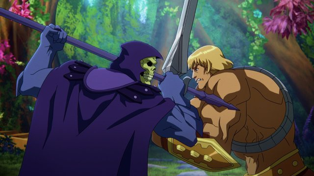 First images of Masters of the Universe Revelation the epic