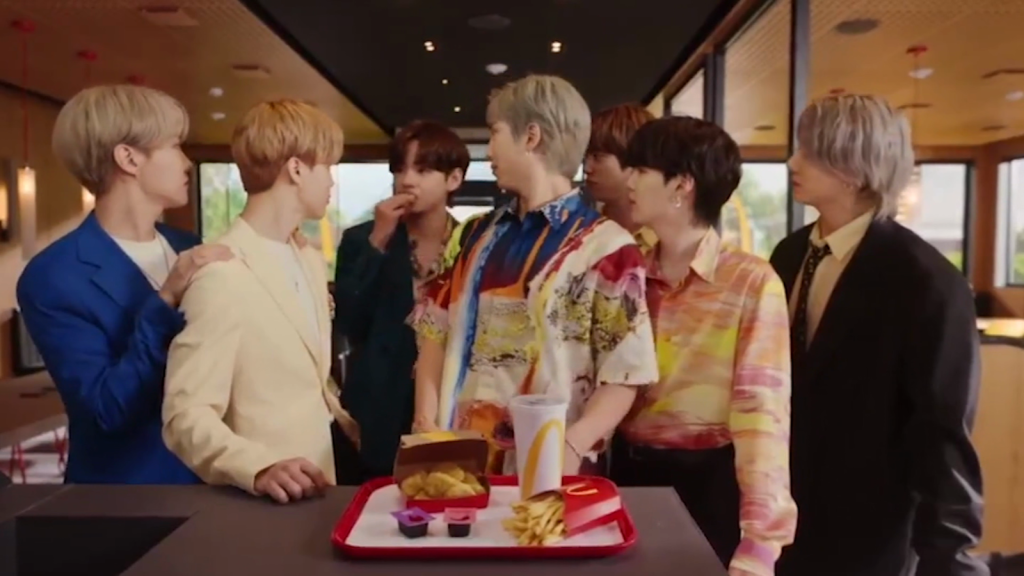 BTS and McDonald's launch new exclusive combo