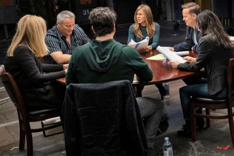 Friends: the protagonists in a moment of the advance of the special that will be seen in the HBO Max special