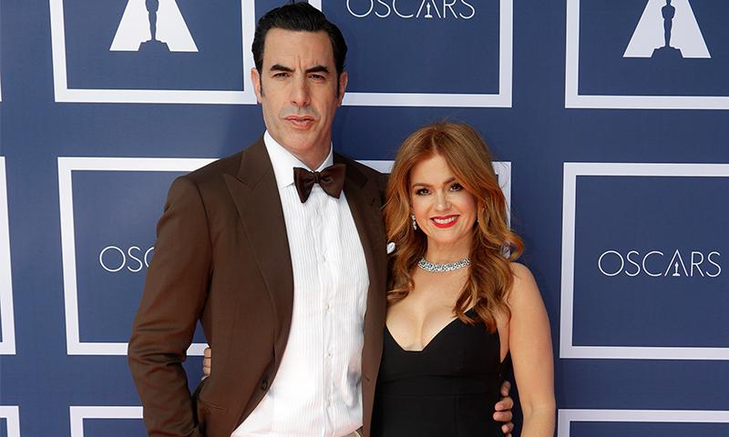 Isla Fisher on her husband Sacha Baron Cohen: 'I'm very lucky to have met him'   News - hola.com