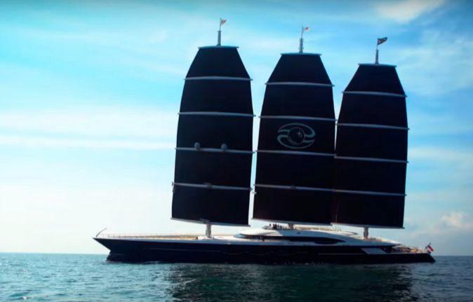 Jeff Bezos buys his first 127 meter supersailer