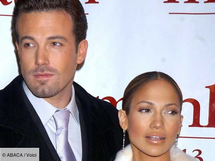 Jennifer Lopez and Ben Affleck as a couple This kiss