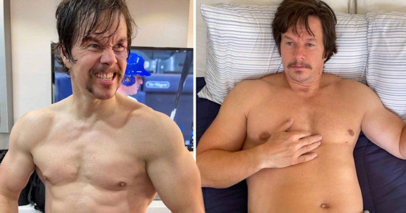 Mark Wahlberg's incredible physical transformation for his next film