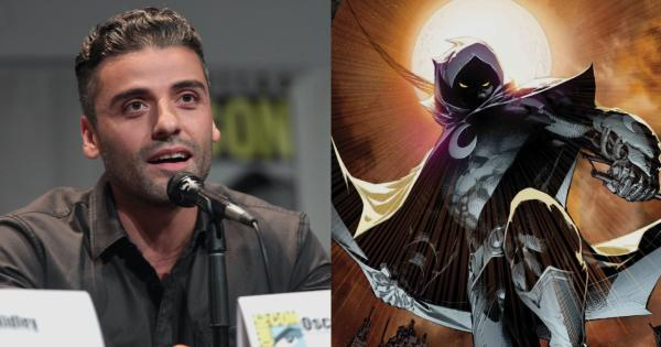 Marvel confirms Oscar Isaac as Moon Knight in first photo