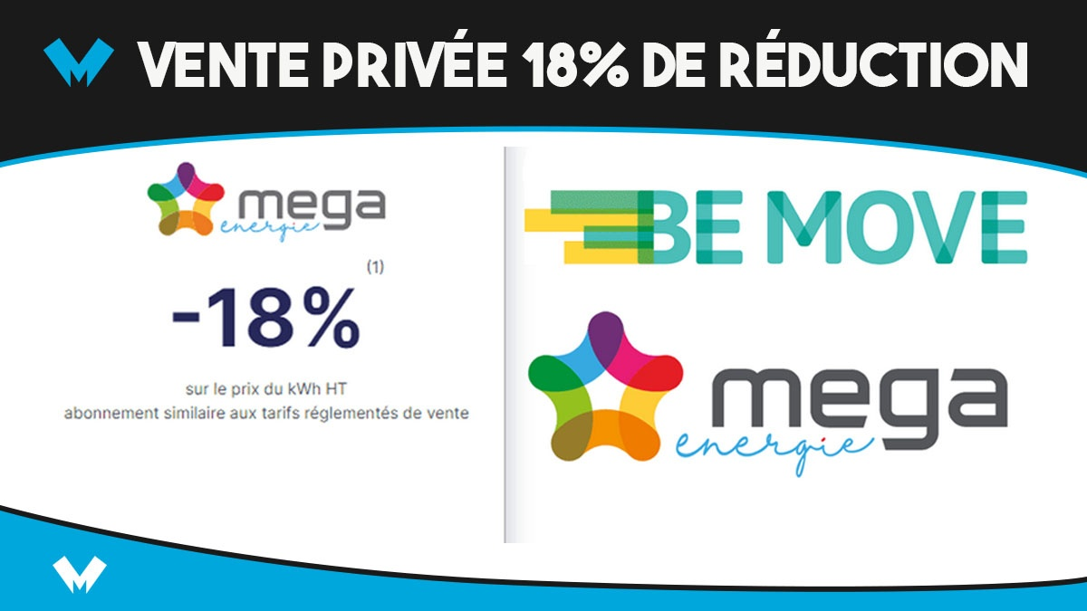 Mega Energie private sale the cheapest electricity and gas contract