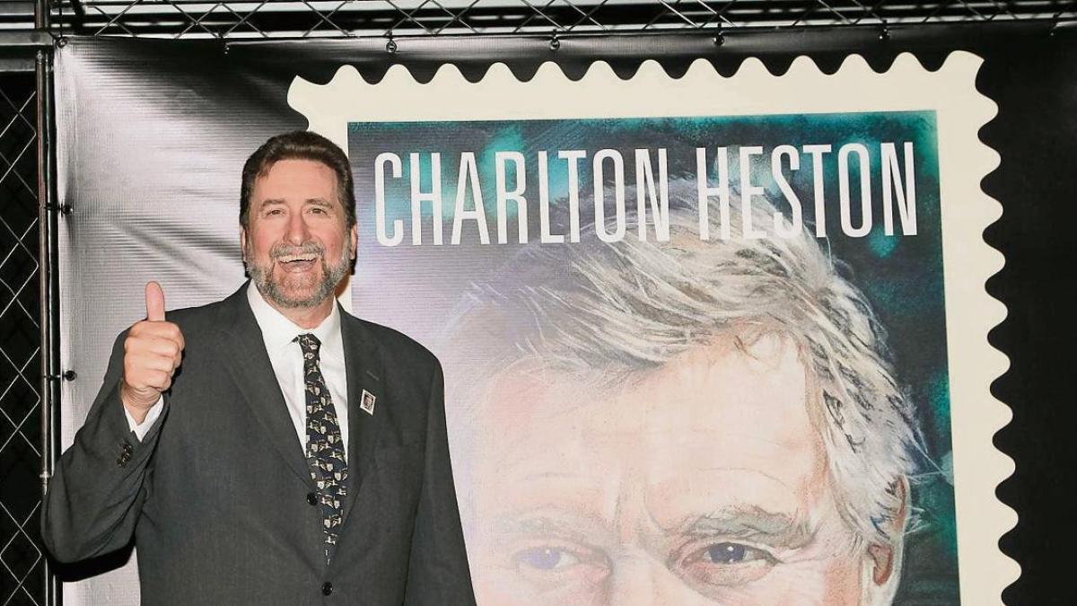 My father was Charlton Heston