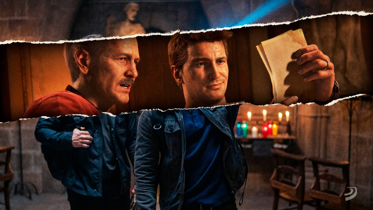 New image from Uncharted The Movie shows Nathan Drake and