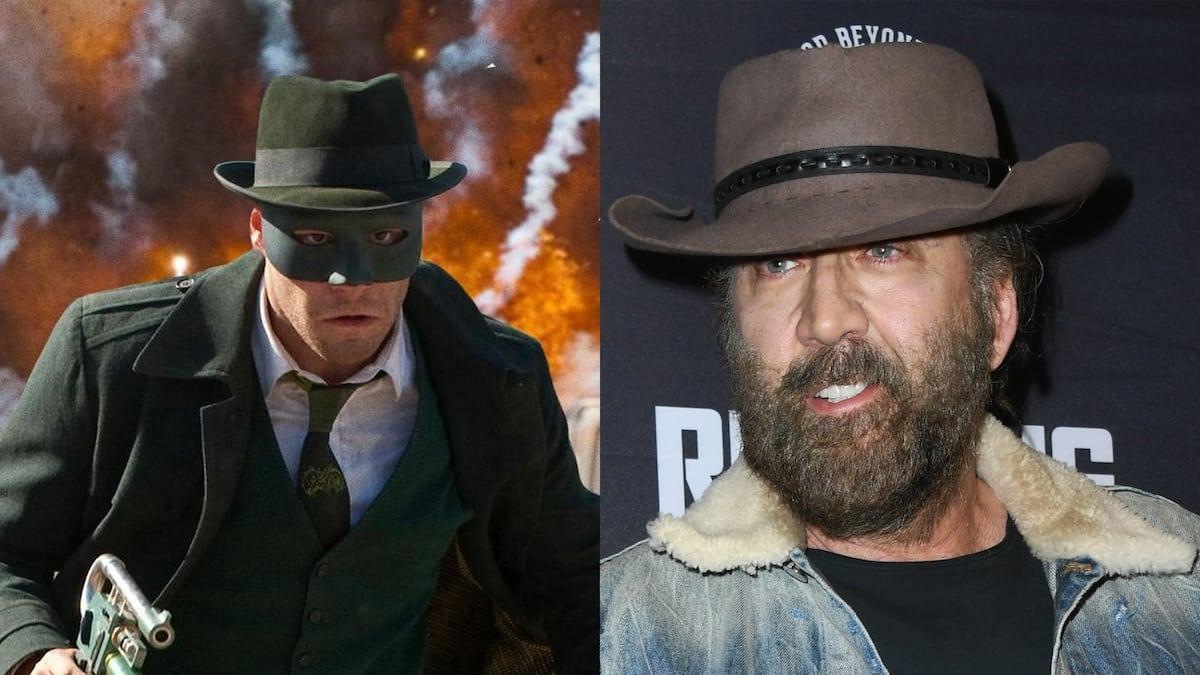 Nicolas Cage lost the role of Green Hornet due to