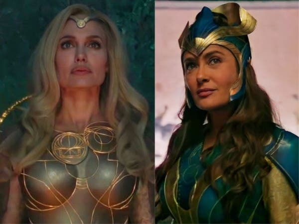 """Salma Hayek hits after the release of the trailer for """"Eternals"""""""