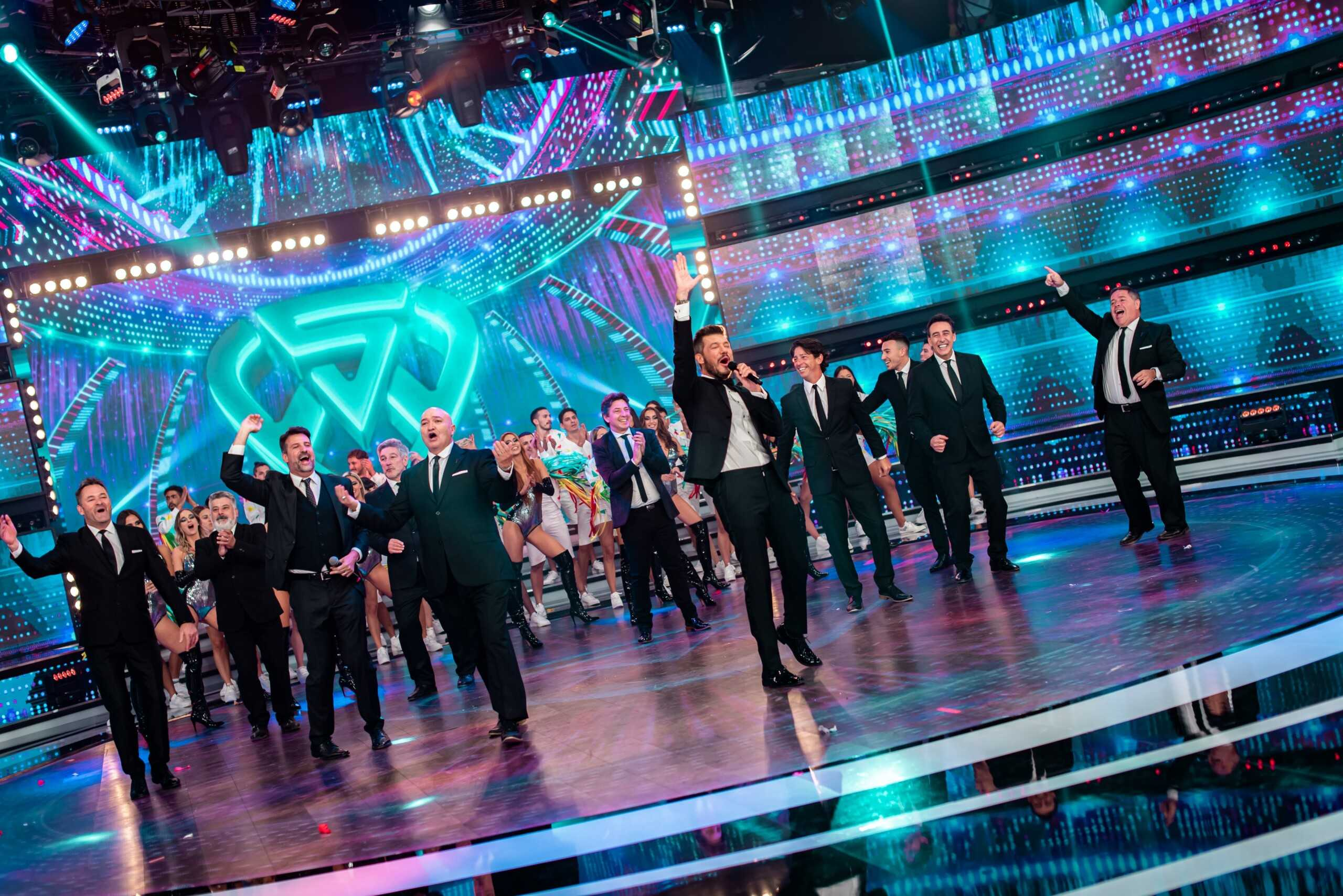 ShowMatch: Tinelli returned and the networks repudiated the lack of protocols