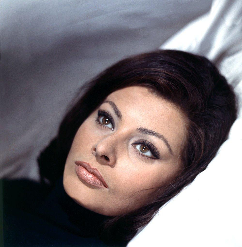 Portrait of Italian actress Sophia Loren (Sofia Villani Scicolone). Italy, 1950s   Photo: Getty Images