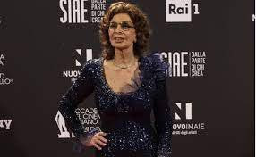 "Sophia Loren won the David de Donatello award as ""Best actress"" at 86 years old."