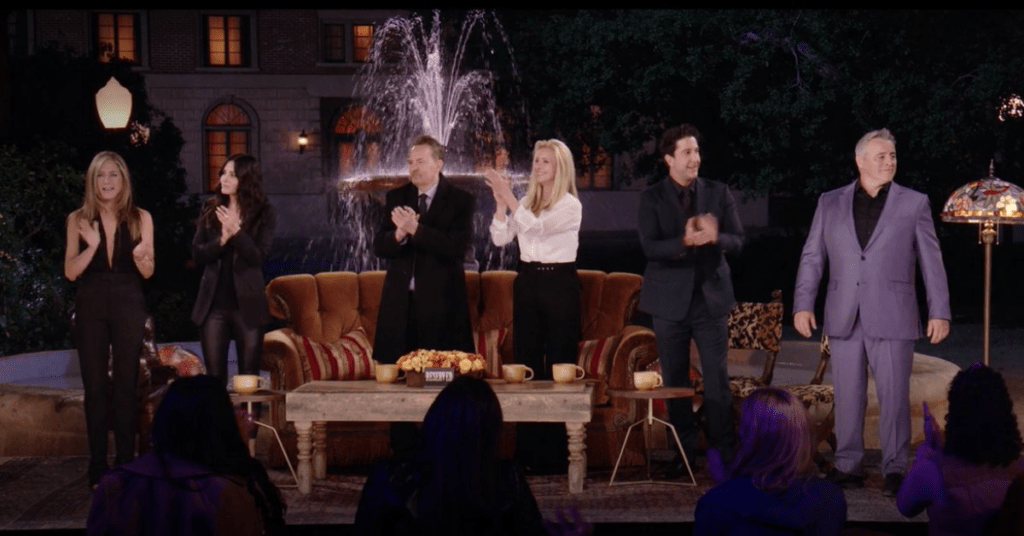 The Chinese regime censored part of the reunion of Friends