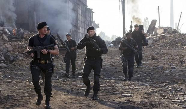 Mercenaries 4 Stallone