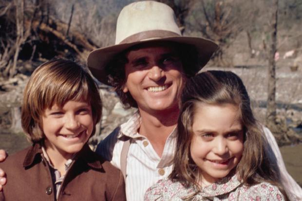 "Jason Bateman with Michael Landon in ""The Ingalls family"" (Photo: NBC)"