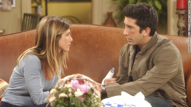 Schwimmer confesses his love for Aniston on Friends