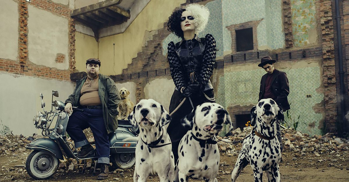 The rebellious origin of the best movie villain Cruella premieres