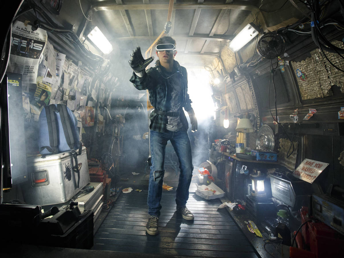 Photo: A still from Ready Player One, a crude but not far-fetched version of the metaverse