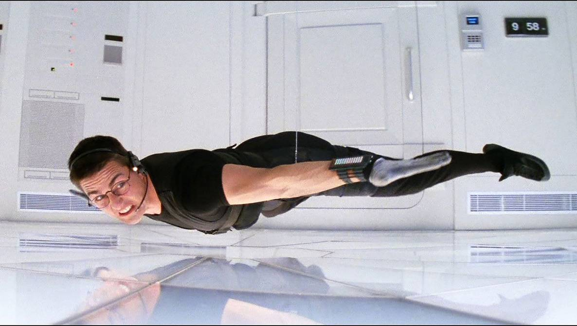 Tom Cruise almost missed the iconic scene from Mission Impossible