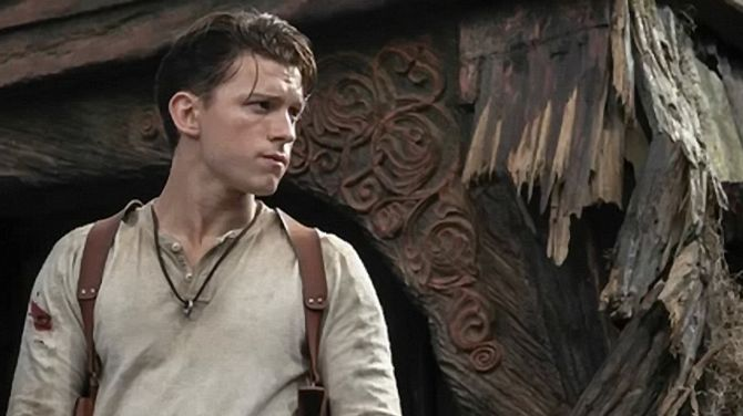 Uncharted A new image from the film starring Tom Holland