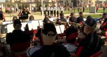 Veterans Band pays tribute to the fallen on Memorial Day