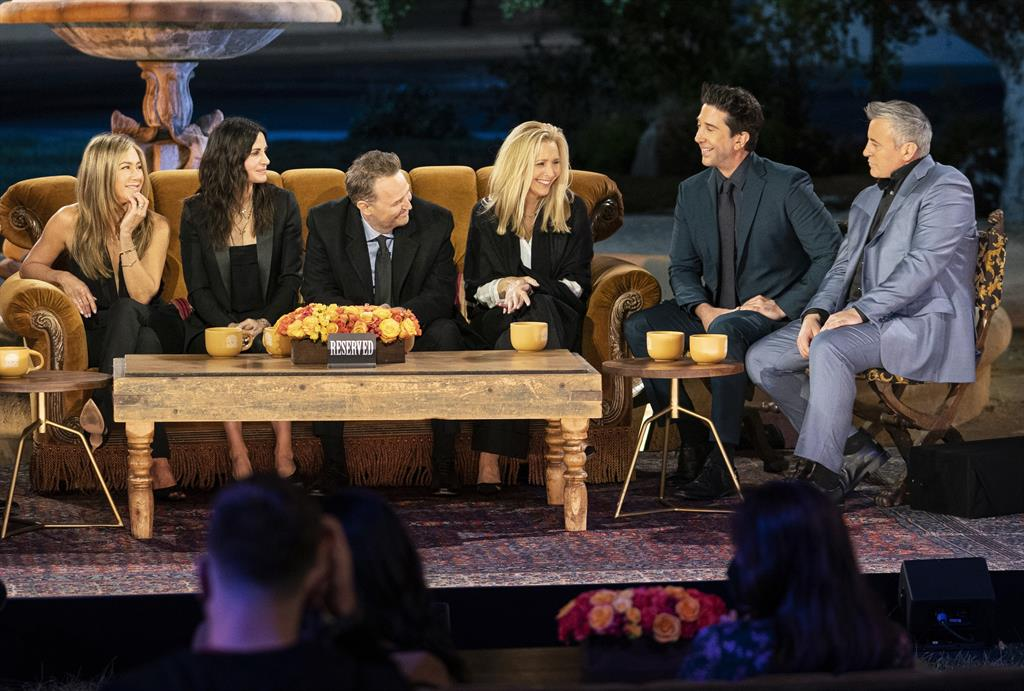 What time does the Friends reunion premiere on HBO?