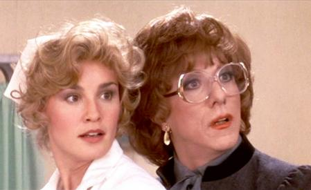 Jessica Lange and Dustin Hoffman in 'Tootsie'