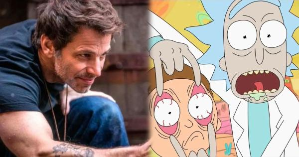 Zack Snyder wants to direct a Rick & Morty movie | Tomatazos