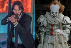 ¿Keanu Reeves vs Pennywise Bill Skarsgard ficha por John Wick