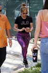 singer and actress jennifer lopez in miami