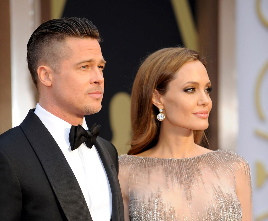 Until their separation in 2016, Brad Pitt and Angelina Jolie, here at the Oscars in 2004, will play the most powerful couple in Hollywood.