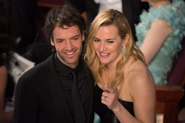 """Kate Winslet, very in love with Ned Rocknroll: """"He is an extraordinary life partner"""""""