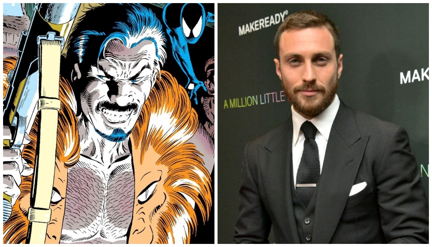 See what Kraven the Hunter will look like in the movies: Will Aaron Taylor-Johnson do a good job?
