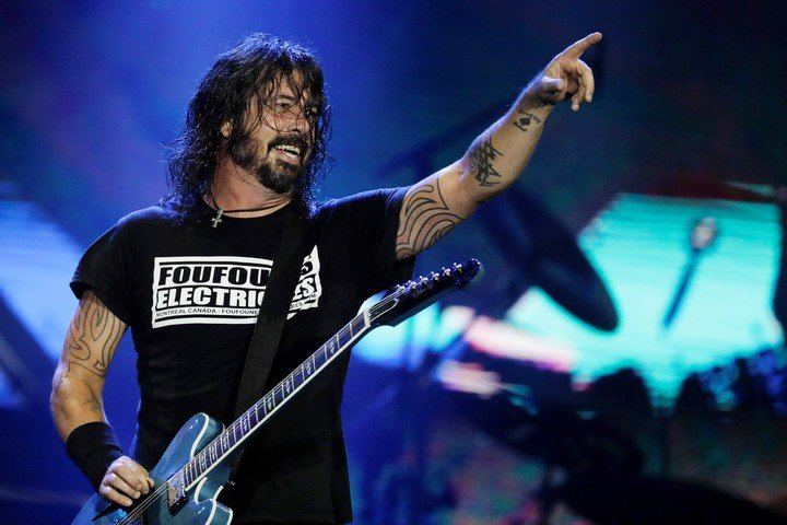 Dave Grohl of the Foo Fighters. The band will reopen Madison Square Garden for concerts. AP Photo