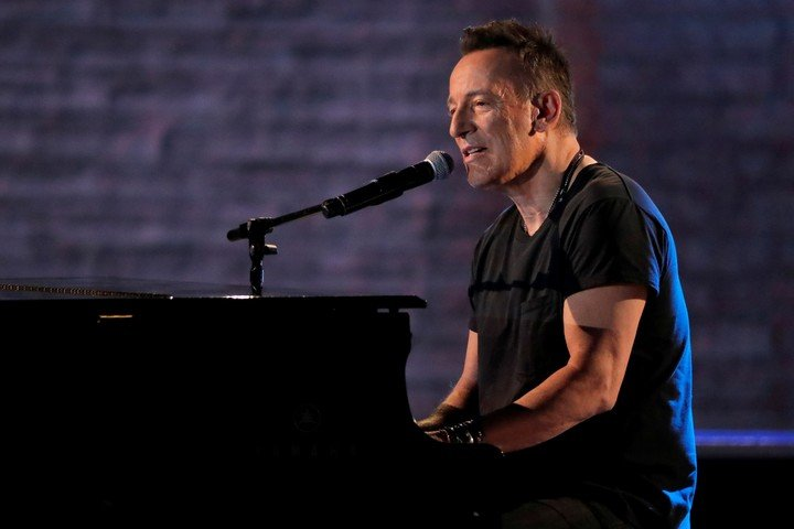 Bruce, when he performed at the Tony Awards on June 10, 2018. Photo Reuters