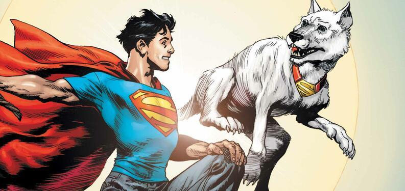 krypto superman dc comics