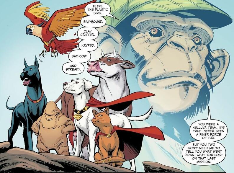 legion of super pets prime earth 001 dc comics