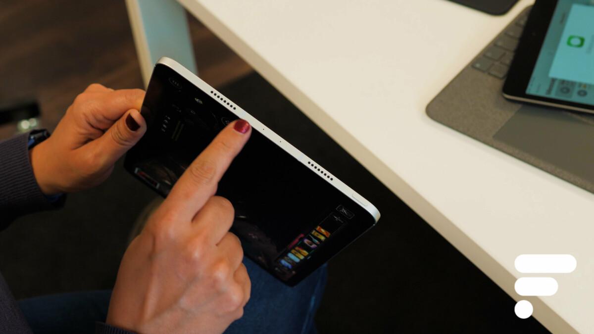 The speaker locations on the Apple iPad Pro 11 M1