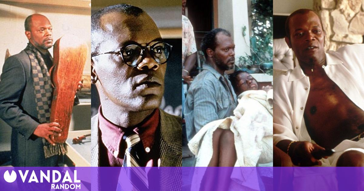 Samuel L. Jackson chooses his favorite movies of his entire career and there are surprises