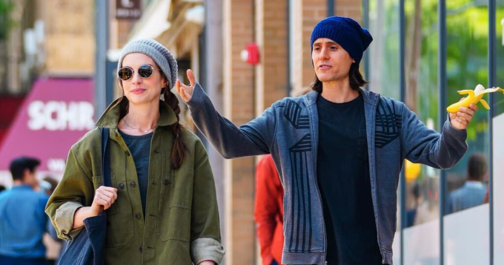 1623442401 Jared Leto and Anne Hathaway together for the first time