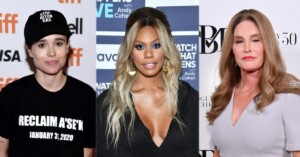 1623519712 Elliot Page Laverne Cox Caitlyn Jenner These stars who have