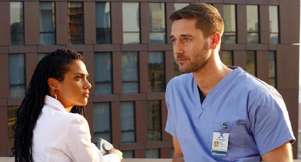 New Amsterdam: Kiss stars Max and Helen explain what that means for the new season