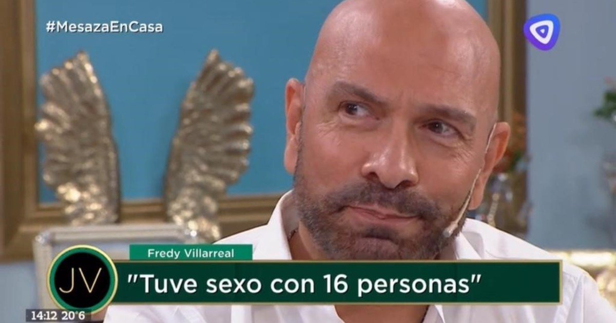 Freddy Villarreal confessed that he had sex with 16 people at the same time and told all the details of the meeting