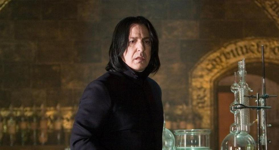 Harry Potter: the letter that Alan Rickman stole from the set and sold for more than $ 25,000